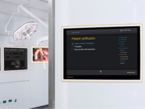 Network-based information hub routes, displays, interacts, streams, records and enhances medical images and patient information