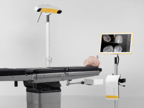 Flexible arm for optimized patient setup