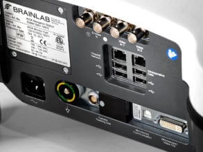 Connection panel of image guided surgery system