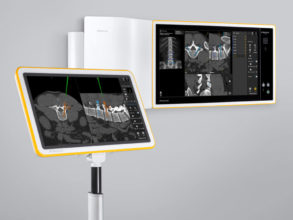 Brainlab Buzz Digital O.R. and Kick Image Guided Surgery system work together during surgical procedures