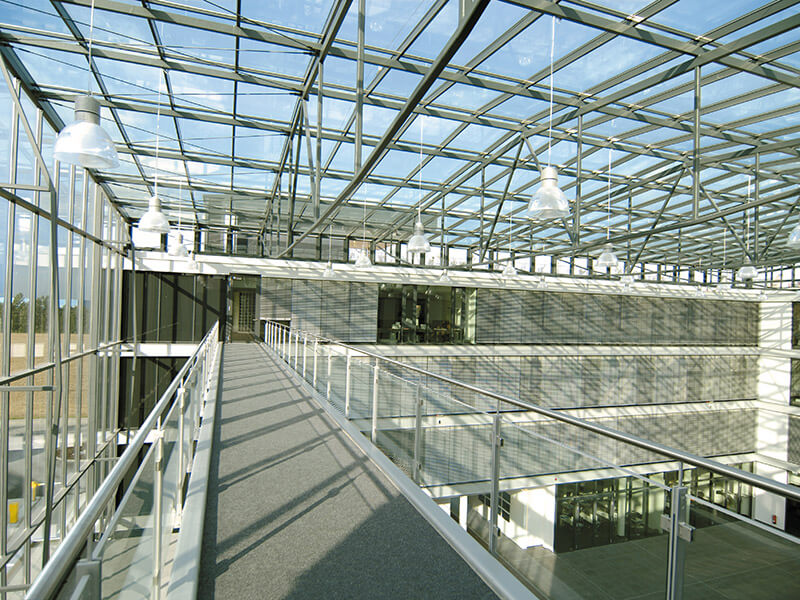 Brainlab Building Atrium