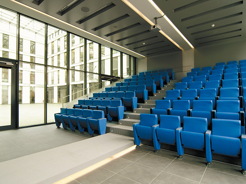 Brainlab Building Auditorium