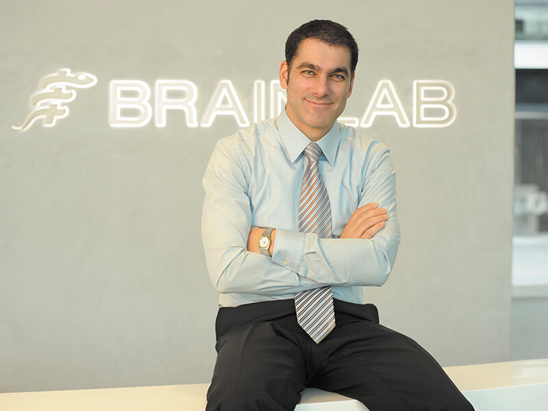 Brainlab Management Board Stefan Vilsmeier 1