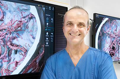 Veit Braun MD, head of neurosurgery at Jung-Stilling Hospital, Siegen
