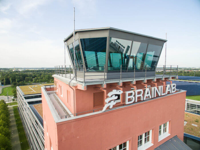 Brainlab Top of Tower Aerial View