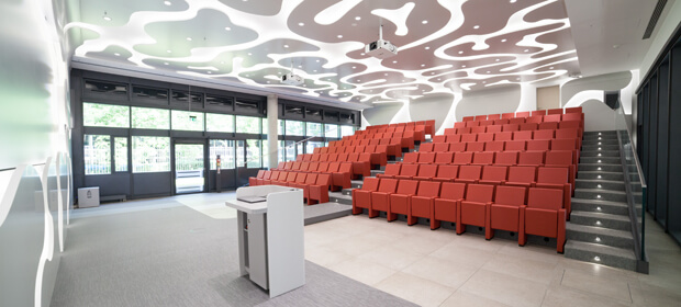 Brainlab Auditorium for internal courses and symposia