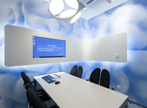 Brain Box - Brainlab headquarters meeting room