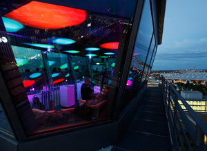 The Brainlab Tower - Event location for internal partys