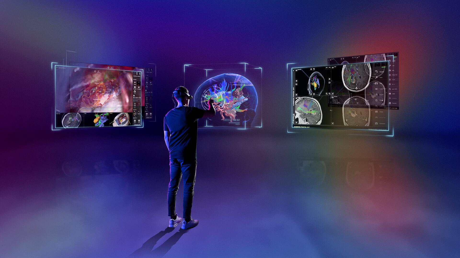 Brainlab - Mixed Reality - Augmented Reality Studio