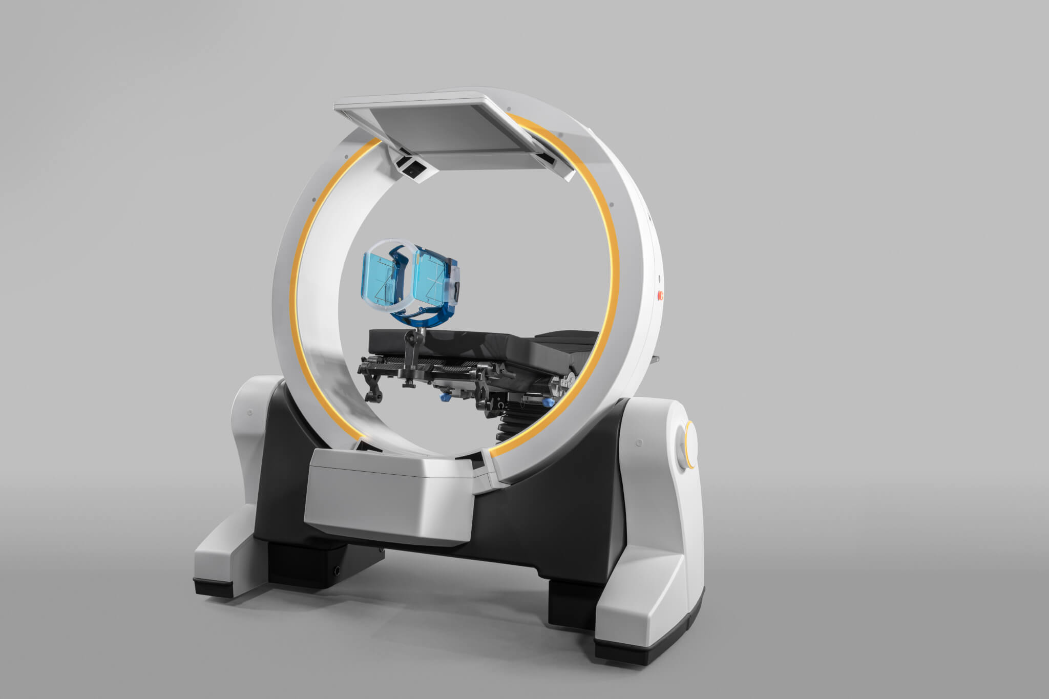 Arceau 3D Loop-X Brainlab pour la neurochirurgie fonctionnelle