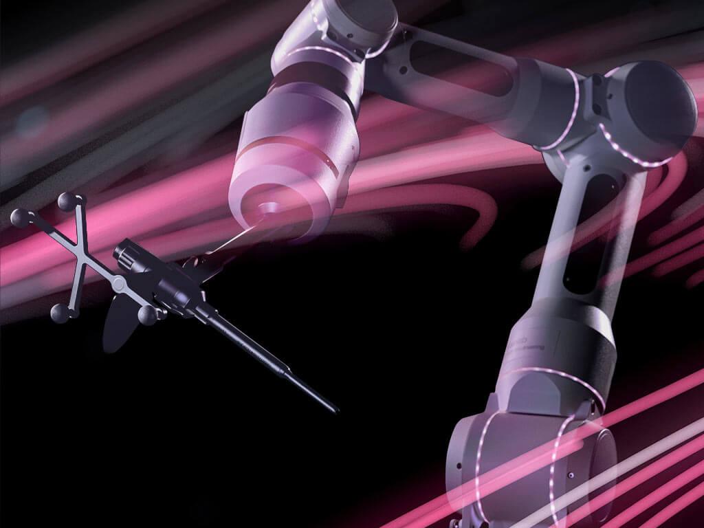 Brainlab Cirq - Braço Cirúrgico Assistente Robótico