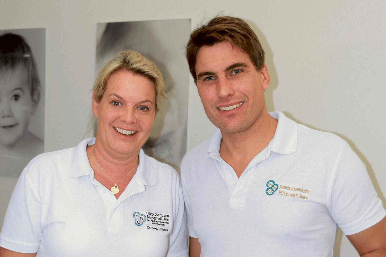 Pr Klaus Stelter et Dr Isabel-Sophie Stelter