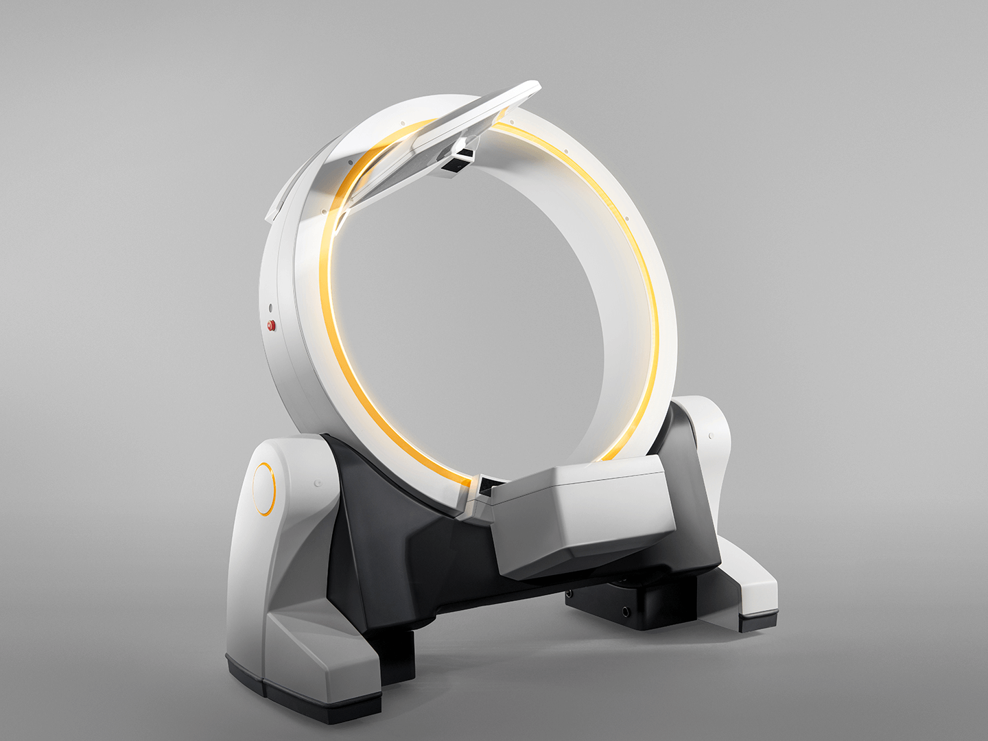 Brainlab Loop-X lightweight design: 440kg/970lbs