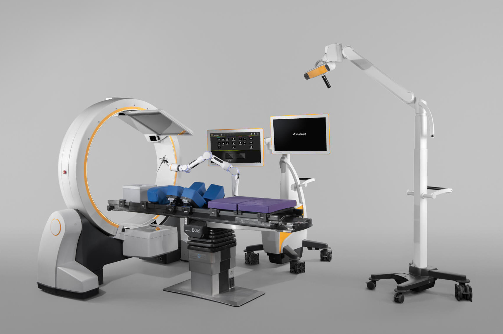 Brainlab Loop-X, Cone-Beam-CT, Navigationsintegration