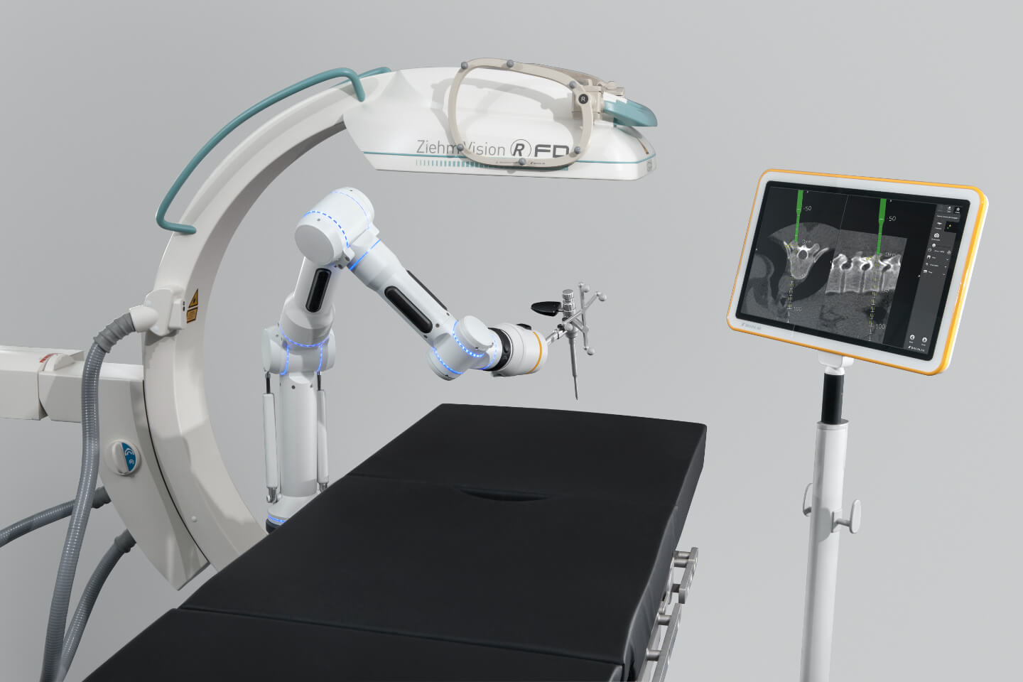 Cirq Robotic Alignment Module para cirurgias de coluna