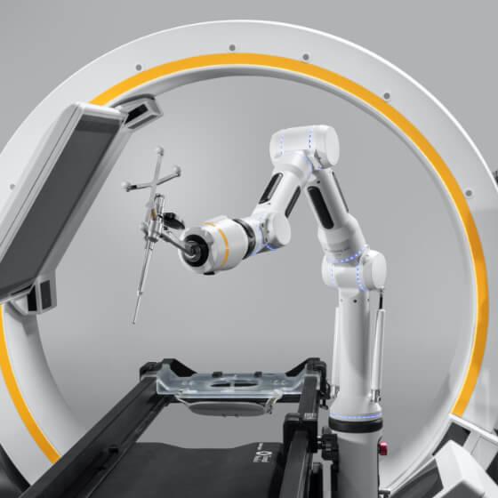 Brainlab Cirq – chirurgischer Roboterassistent