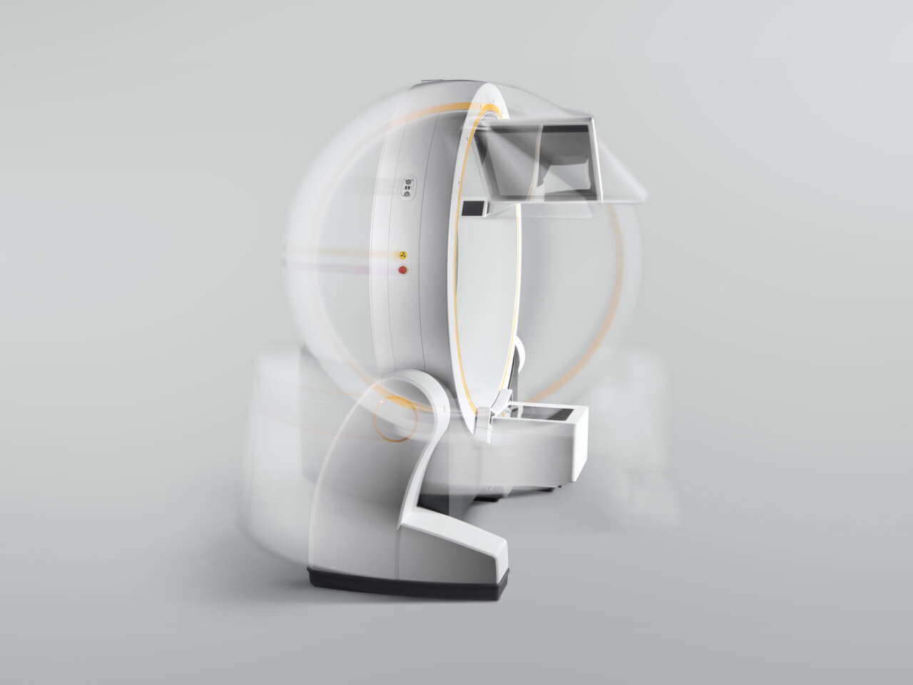 Brainlab Loop-X conebeam-ct flexible imaging