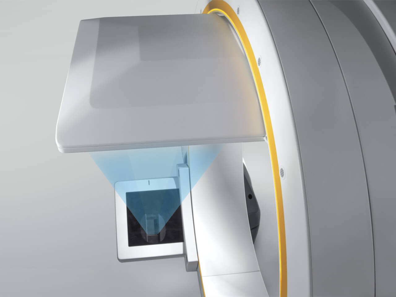 Brainlab Loop-X 3D c-arm X-Ray beam collimation