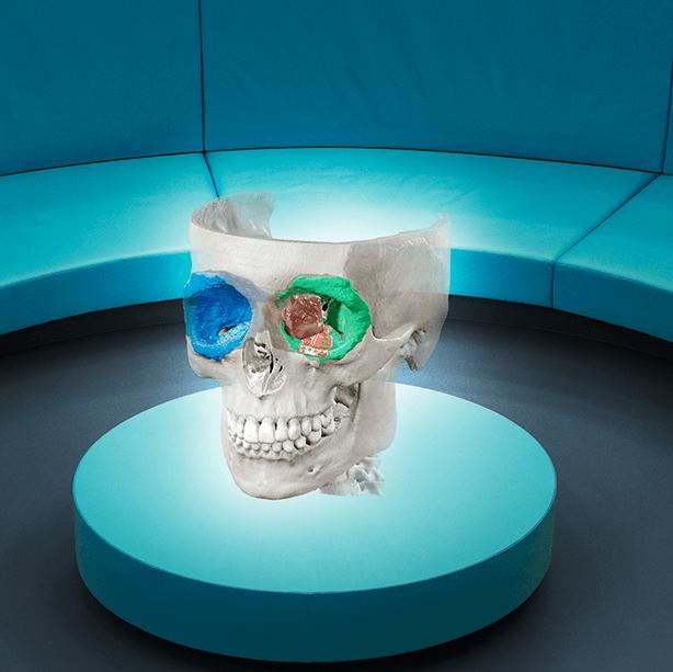 Realidad mixta de Brainlab