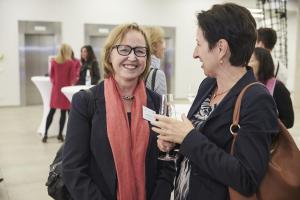 Monika Dech Veranstaltung Bewusstsein für Brustkrebs
