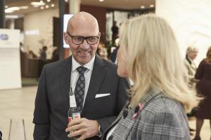 Klaus Dittrich Veranstaltung Bewusstsein für Brustkrebs