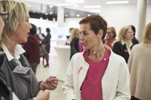 Margit Dittrich Veranstaltung Bewusstsein für Brustkrebs
